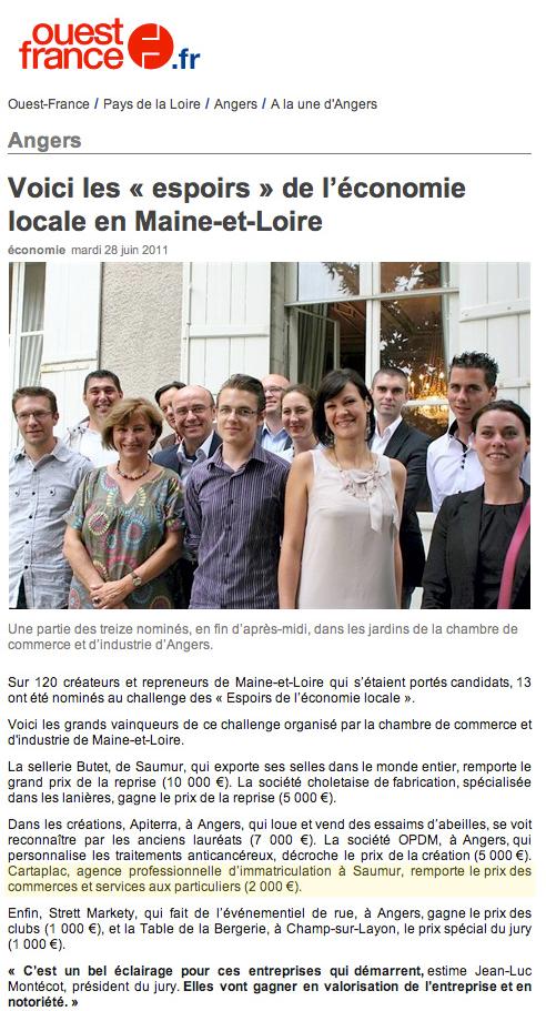 Concours Ouest France