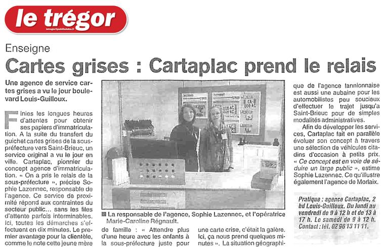 Article Le Trégor