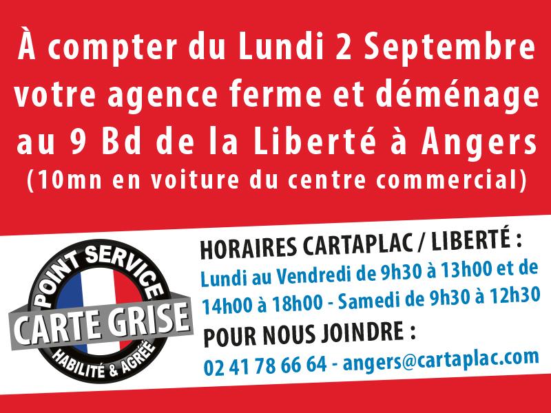 Agence Cartaplac Agence CARTAPLAC Angers - Espace Anjou