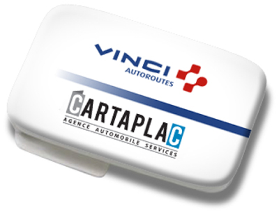 Badge Vinci Autoroutes / CARTAPLAC