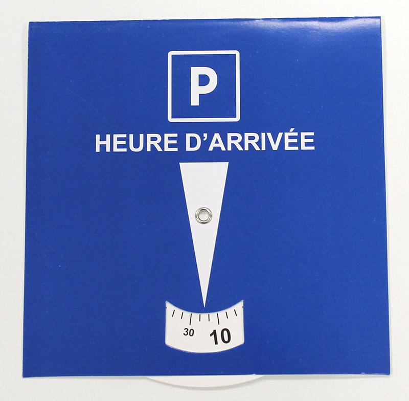 Disque de stationnement (disque bleu)