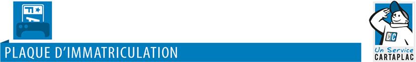 Logo Service Plaques d'Immatriculation CARTAPLAC