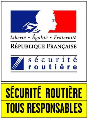 Logo de la sécurité routière
