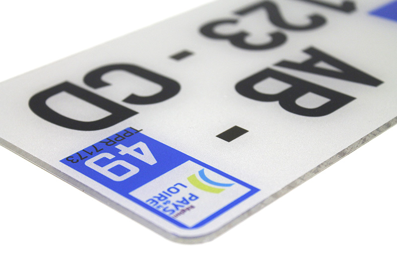 Plaque PVC 210x130