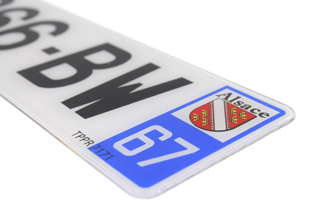 Plaque PVC 520x110